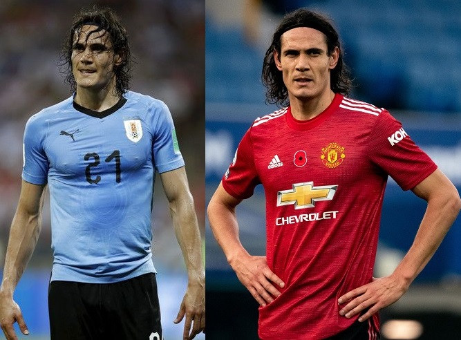 Manchester United striker, Edinson Cavani handed two-match international ban