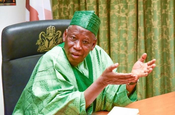 Presidency should be zoned to the South in 2023 - Governor Ganduje
