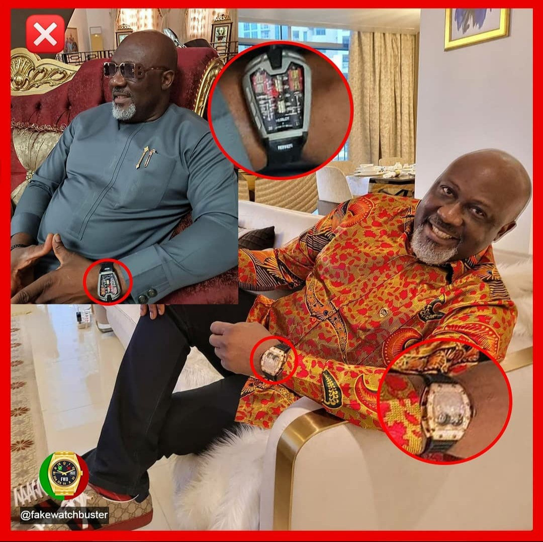 Fake Watch Buster comes for Dino Melaye; says at least two of his luxury watches are fake