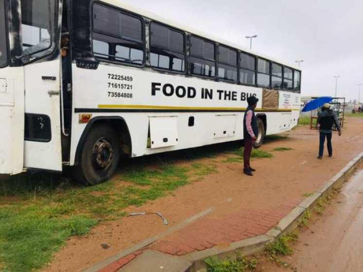 Reactions as man converts 47-seater bus into mobile restaurant