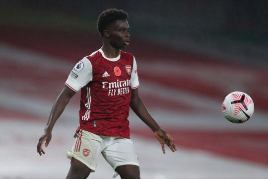 Arsenal star, Bukayo Saka ruled out of England clash with hamstring injury