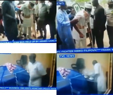 Nigerian man standing trial in court feigns to have a spinal cord injury but a camera planted in his room shows he is very fit (video)