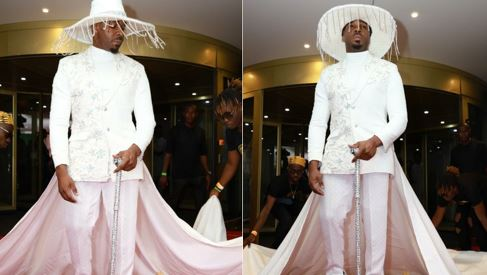 See what Pretty Mike wore that has got everyone talking (Photos)