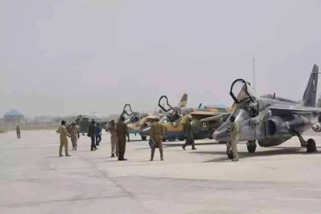 Nigerian Airforce releases names of pilots on missing jet; says intelligence report suggests the jet might have crashed