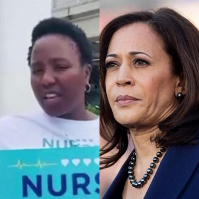 Nurse charged for allegedly threatening to kill Kamala Harris