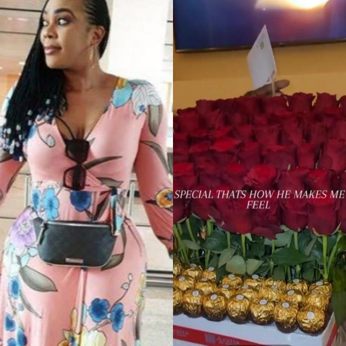 """""""Special is how he makes me feel"""" Ehi Ogbebor shows off romantic gift she received from a man"""