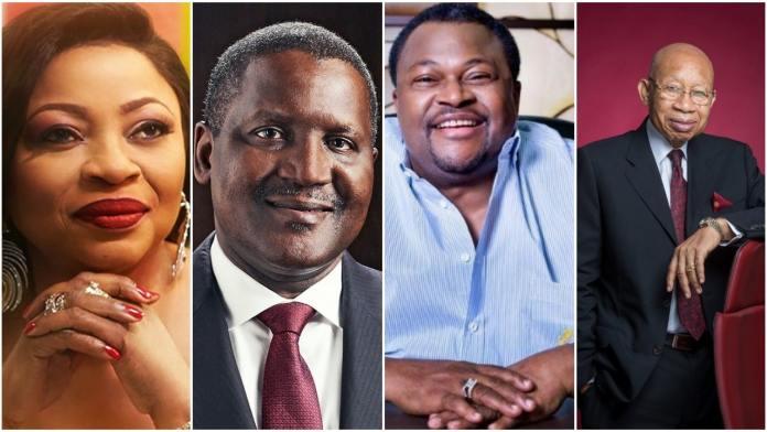 10 wealthiest people in Nigeria