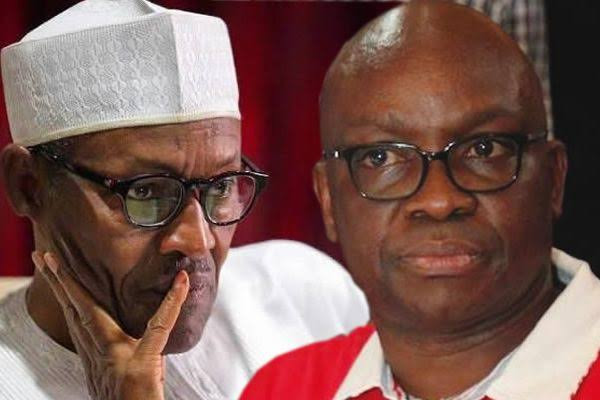 """""""Can he operate Android Phone not to talk of making genocidal tweets? - Ayo Fayose questions after Buhari"""