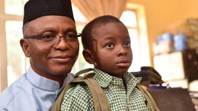 Governor Nasir El-Rufai explain why e withdraw im son 'Sadiq' from public  school - BBC News Pidgin