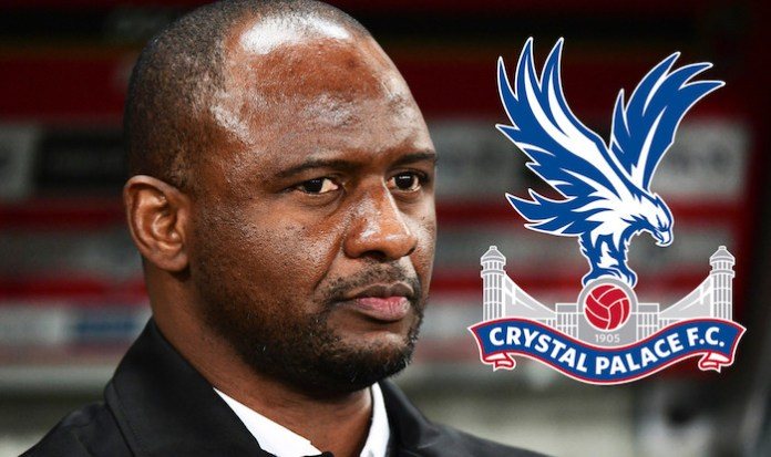 Arsenal legend Patrick Vieira appointed new manager of Crystal Palace?