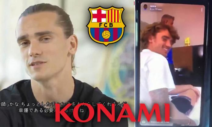 Barcelona star, Antoine Griezmann sacked by Konami over leaked video of him and Ousmane Dembele ?taunting? Asian workers