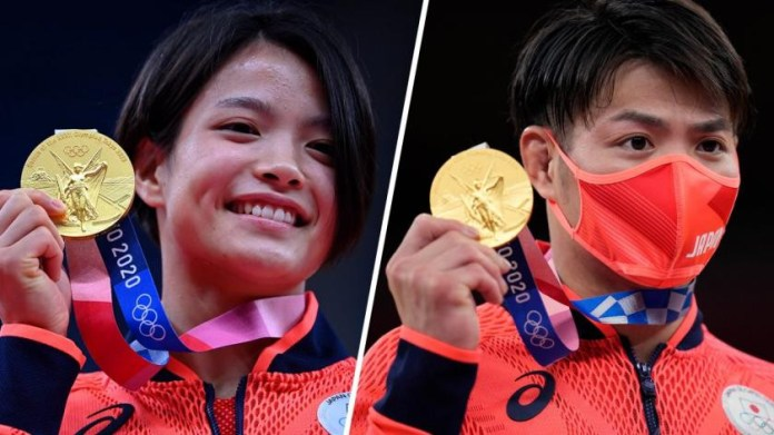 Japanese siblings make Olympic History by winning Gold on same day (photos)