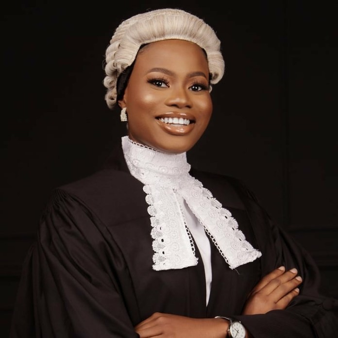 Nigerian lady, Bukola Alada, emerges best overall student at the Nigerian Law school; bags 16 awards