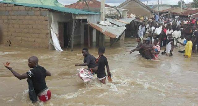 File Flood in Baure LG of Katsina in 2020