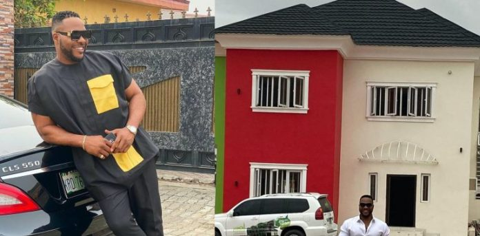 Nollywood Actor Ninolowo Acquire a New House 768x379 1