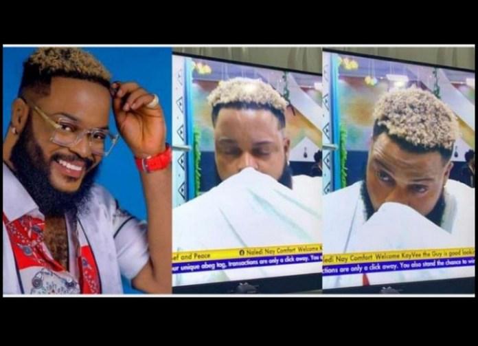 Video: White Money Breaks Down In Tears After Bbnaija Eviction -  Celebrities - Nigeria