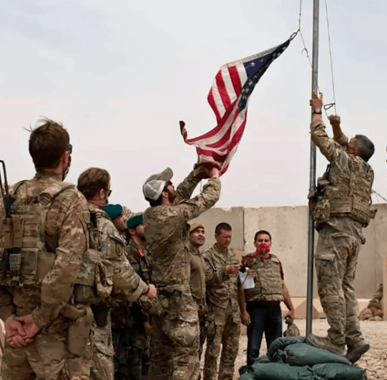 Taliban celebrates victory as last US troops leave Afghanistan after 20 years