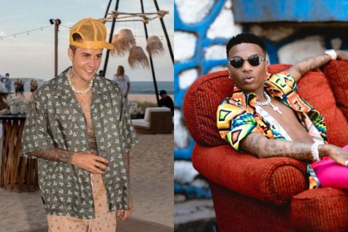 Justin Bieber and Wizkid