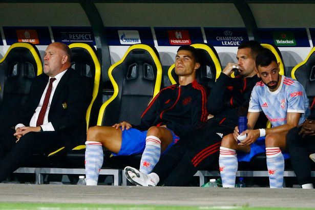 Ronaldo was taken off in the 72nd minute of the match
