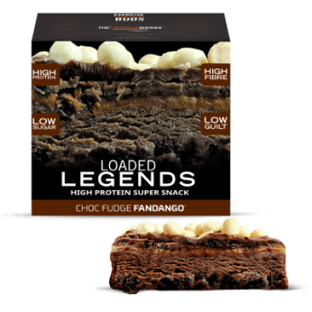 Loaded legends from The Protein Works feature a great taste