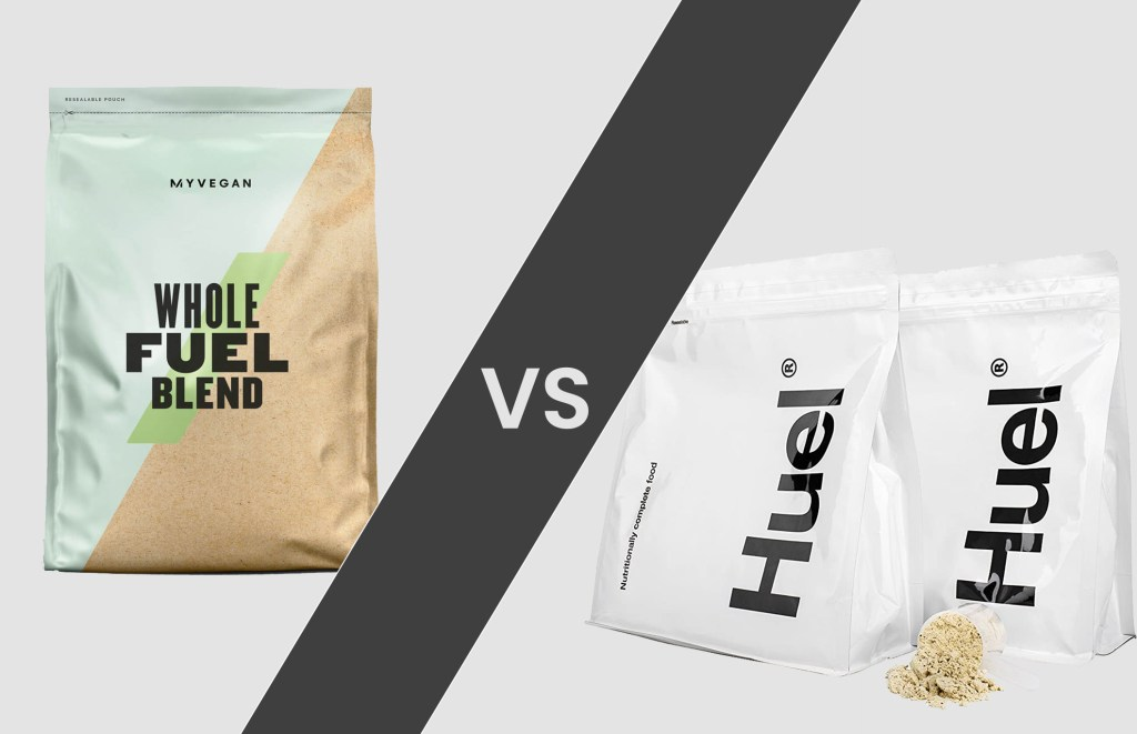 MyProtein Whole fuel Blend vs Huel