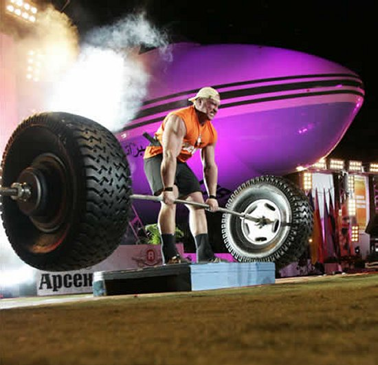 Strongman Tire Deadlift