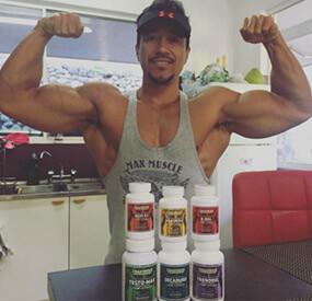 bodybuilder on steroids