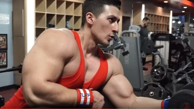 bulky bodybuilder