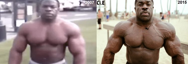 kali muscle transformation