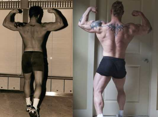 kris gethin before after