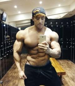 asian bodybuilder on steroids
