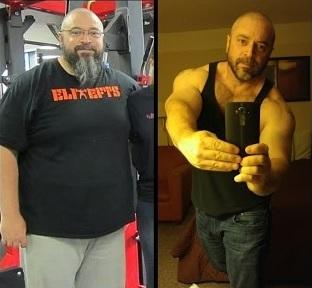 steve shaw transformation
