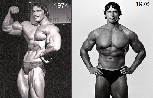 arnold before after