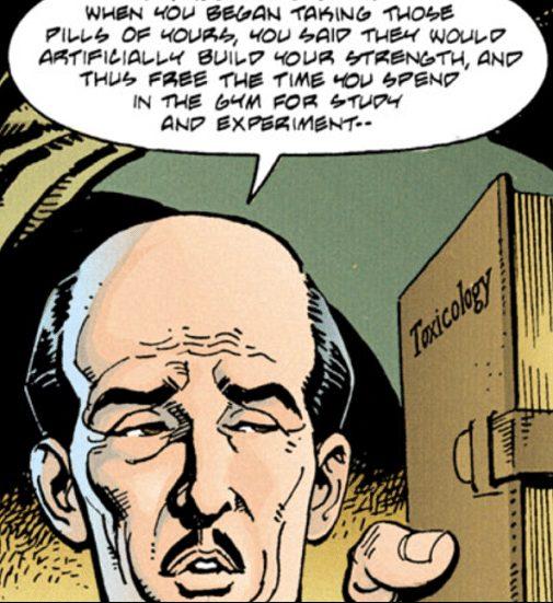 batman steroids comic