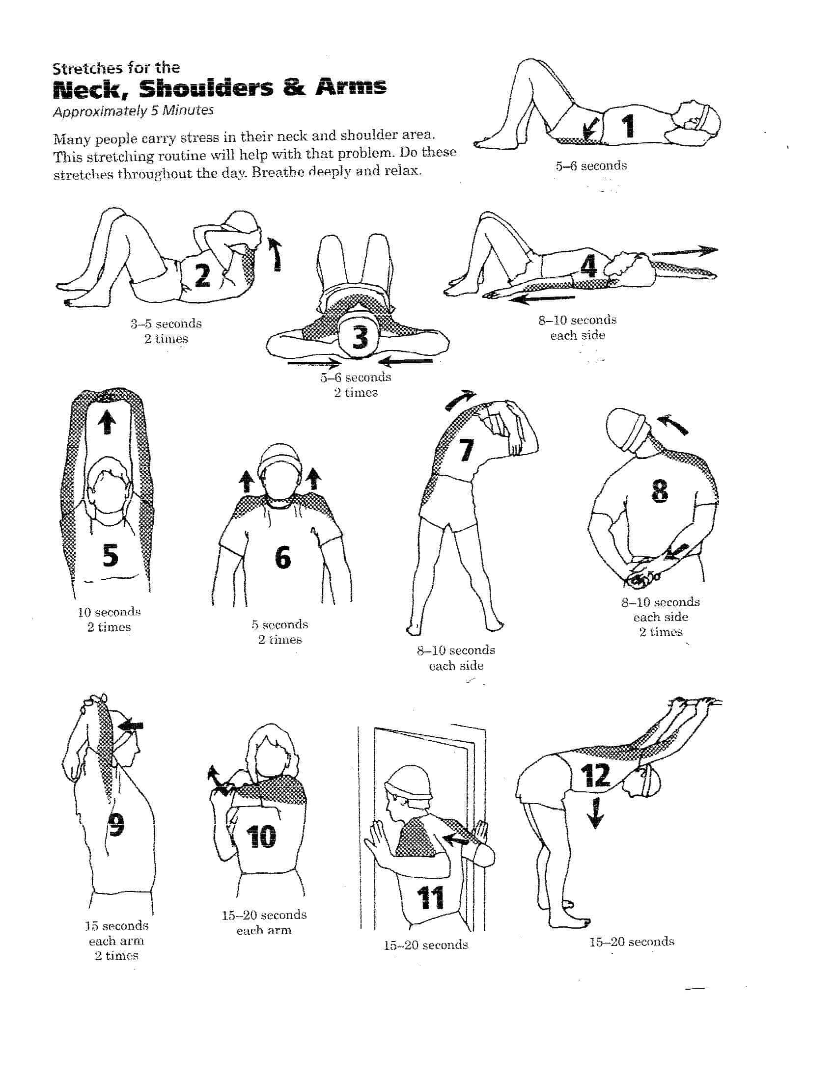 Rotator Cuff Stretches