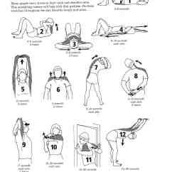 Lower Back Exercises Diagram Double Bubble Rotator Cuff Stretches Mississauga Chiropractor And