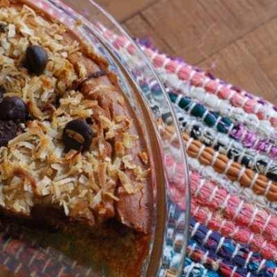 Flourless Chocolate Chip Coconut Cake