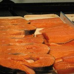 Salmon filets and steaks (Photo credit: Wikipedia)