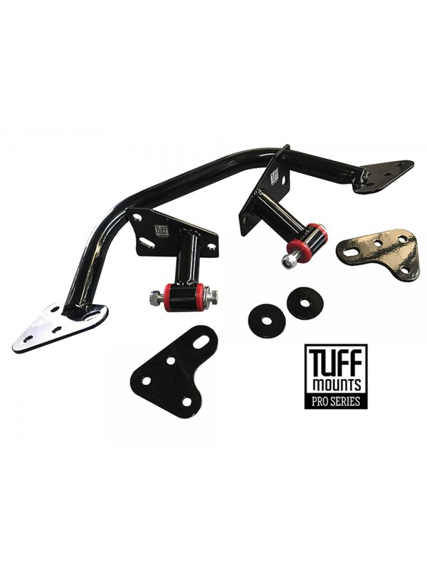 TUFF MOUNTS, MUSTANG BARRA CONVERSION KIT for FASTBACK