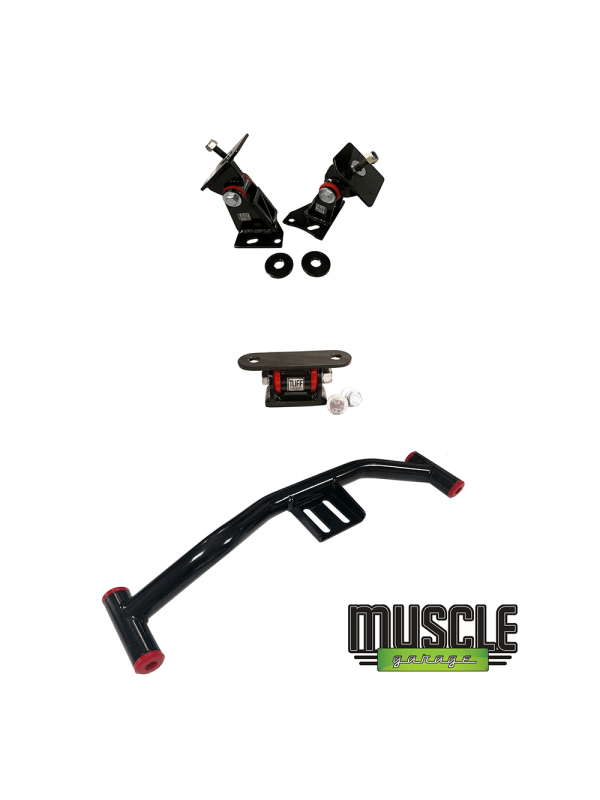 TUFF MOUNTS, MUSTANG BARRA CONVERSION KIT for Fox Body Mustang