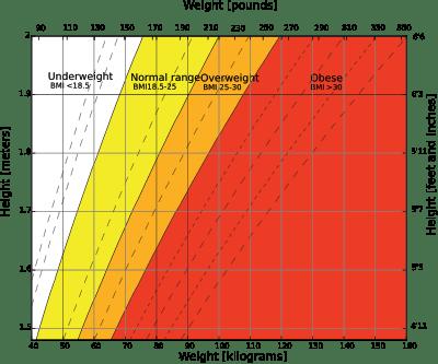 Body Mass Index Graph