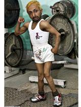 Small bodybuilder