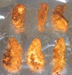 Breaded Chicken Recipe – Almond & Parmesan