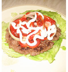 How To Make A Low Carb Burger King Whopper