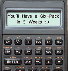 The Six Pack Calculator. Input Your Stats Now!