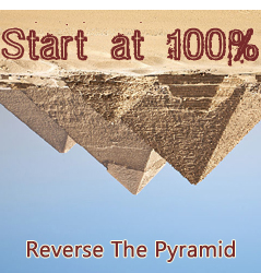 Reverse Pyramid Training – Start At Max Strength