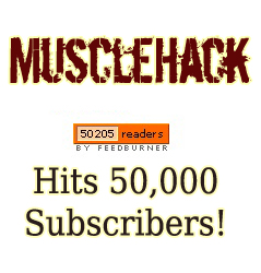 MuscleHack Hits 50,000 Subscribers!! (& More Membership Site Details…)
