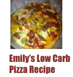 The Ultimate Low Carb Pizza Recipe