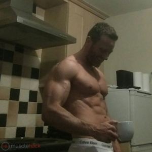 Mark McManus at 35yrs old