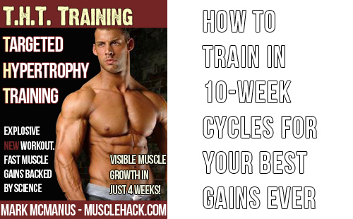 How To Train In 10-Week Cycles For Your Best Muscle Gains